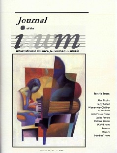 IAWM Journal cover