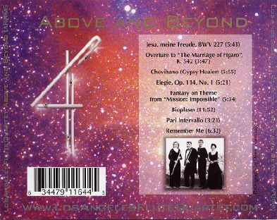 Above and Beyond CD Tray