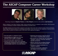 ASCAP Composer Career Workshop