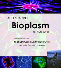 Bioplasm, for flute choir