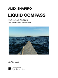 LIQUID COMPASS score cover
