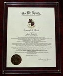 MPE Award of Merit