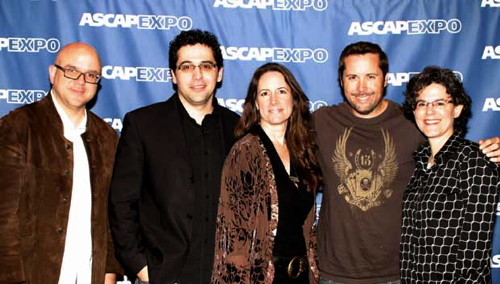 Alex at 2010 ASCAP EXPO