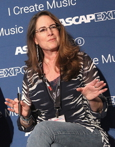 Alex speaking at the ASCAP EXPO in Hollywood, 2016