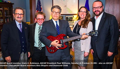ASCAP lobbying