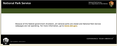 [IMAGE] NPS shut down